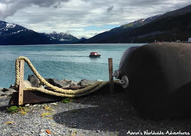 Boat Leaves Whittier
