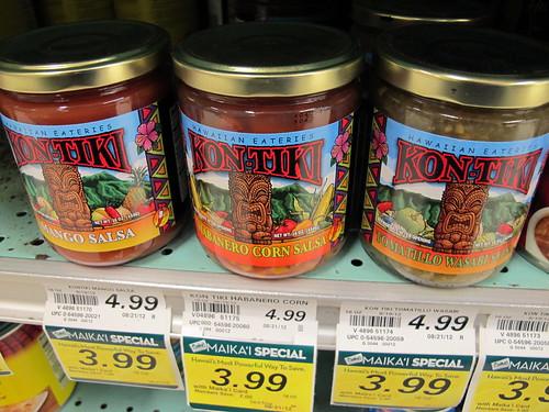 Tiki salsa at Foodland
