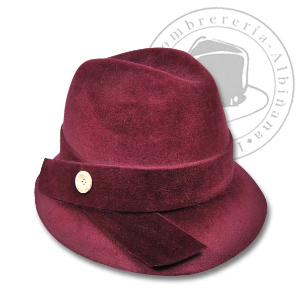 Sombrero de la marca Barbisio en Sombrerería Albiñana