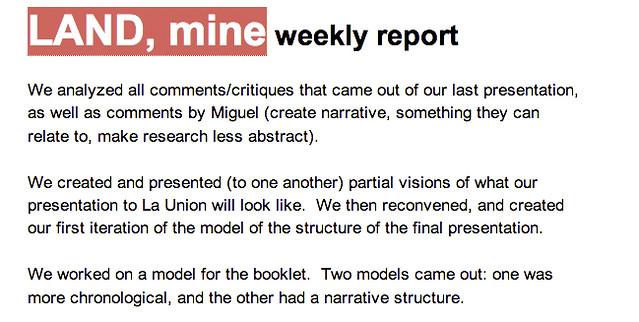 Weekly Report_December 2, 2012