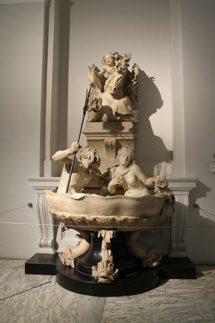 Fontaine Murale aux Dieux marins