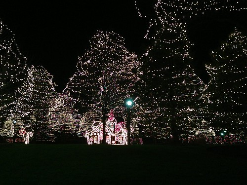 A Christmas Display in Rosemont