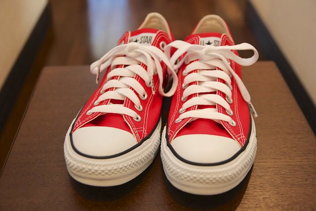CONVERSE CANVAS ALL STAR® OX RED
