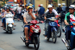 Hanoi commute by simmogem, on Flickr