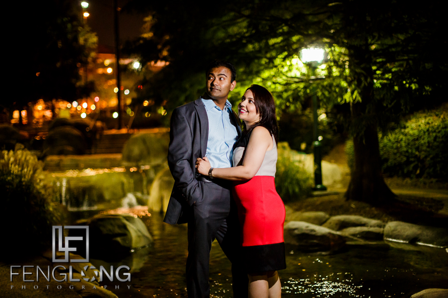 Navneet & Nakul's Engagement Session | Piedmont Park & Midtown | Atlanta Indian Gujarati Sikh Wedding Photographer