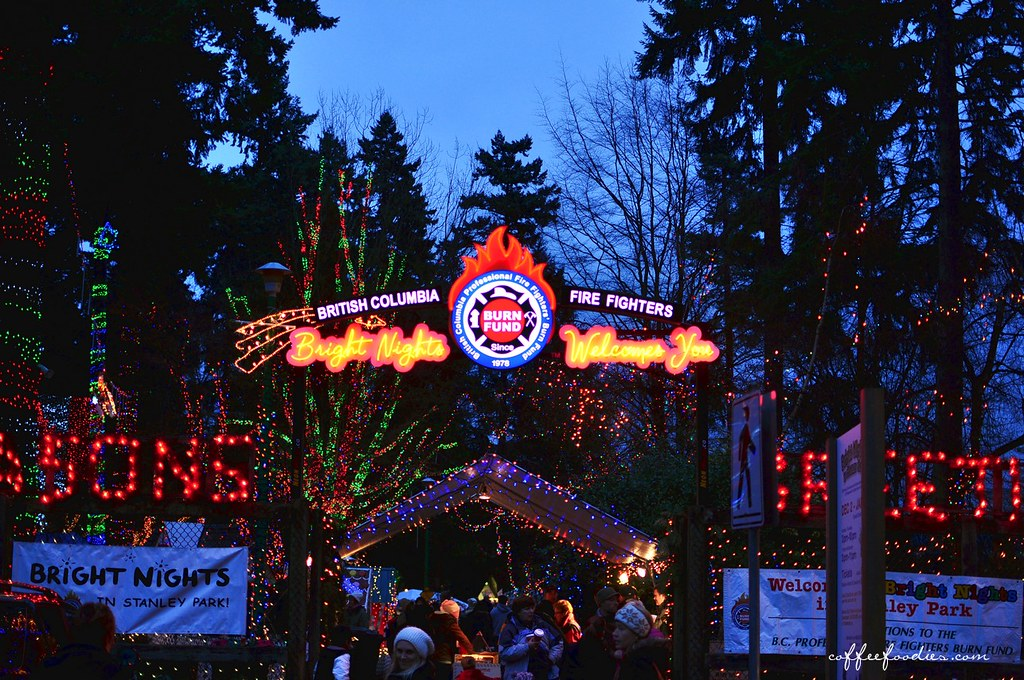 Bright Nights Stanley Park Christmas 2011