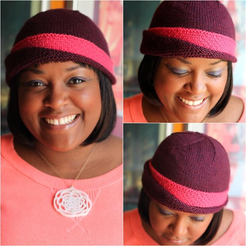 Asymmetrical hat
