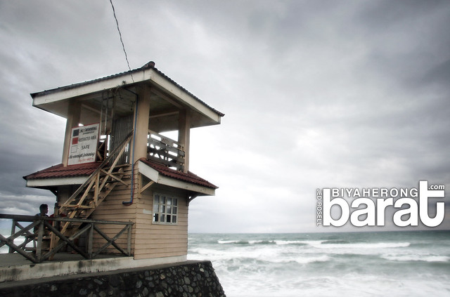 lifeguard post in sabang beach baler