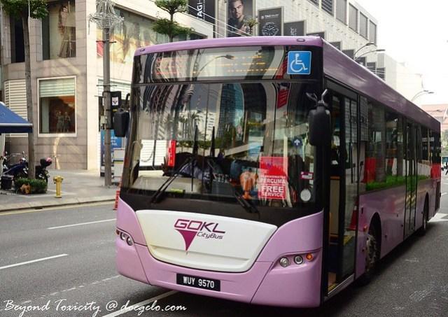 free shuttle bus in Kuala Lumpur