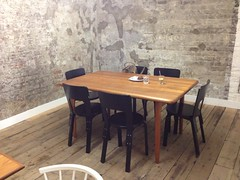 Seating, Department of Coffee and Social Affairs, Leather Lane