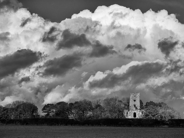 Cloudscape at Racton Tower