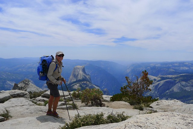 Top of Clouds Rest Overlooking Half Dome
