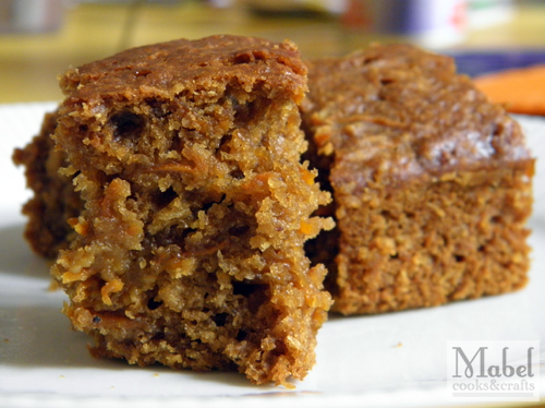 Molasses Carrot Cake