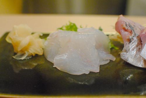 flounder fin sashimi