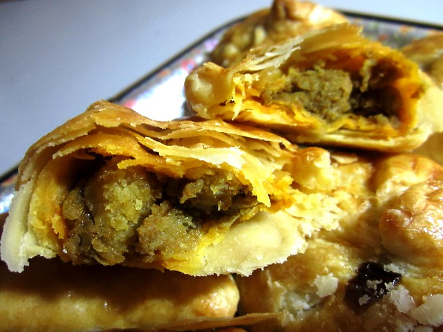 Curry puff filling