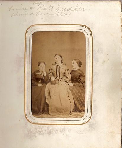 Almira Lowmiller and friends