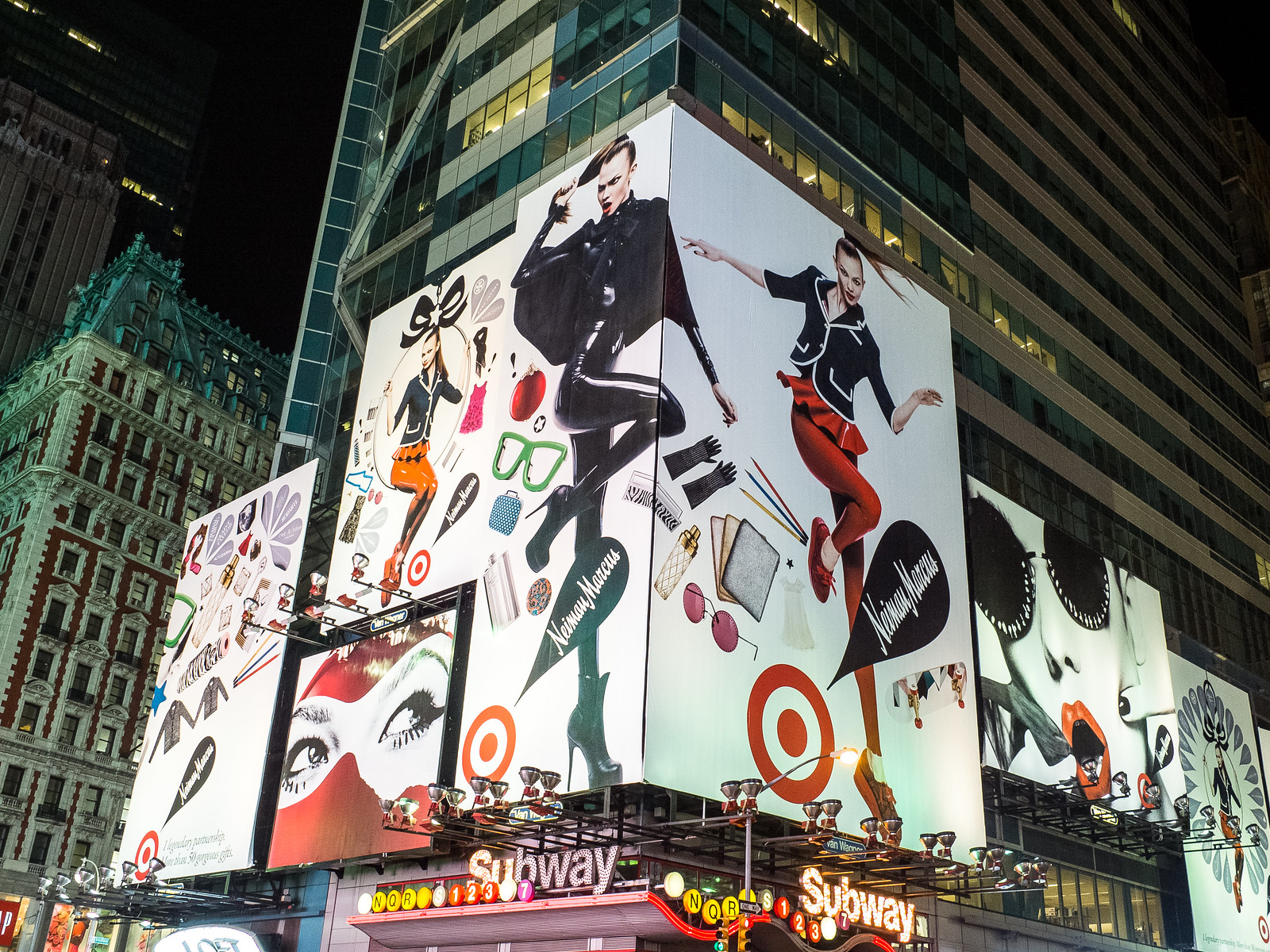 Latex?  On a multi-story billboard in Times Square?  YES! by wwward0