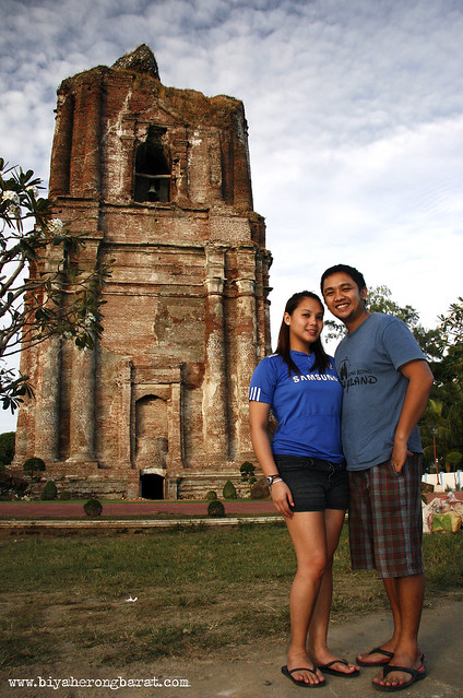 Jay Pagulayan and Mico Daleja in Bacarra Bell Tower