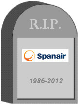 Spanair Tombstone