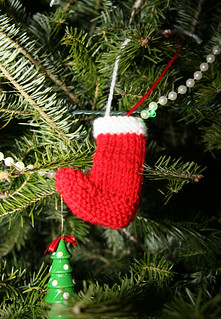 Knitted Christmas Ornament