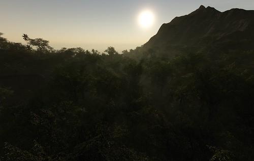 Isla Sorna Sunset