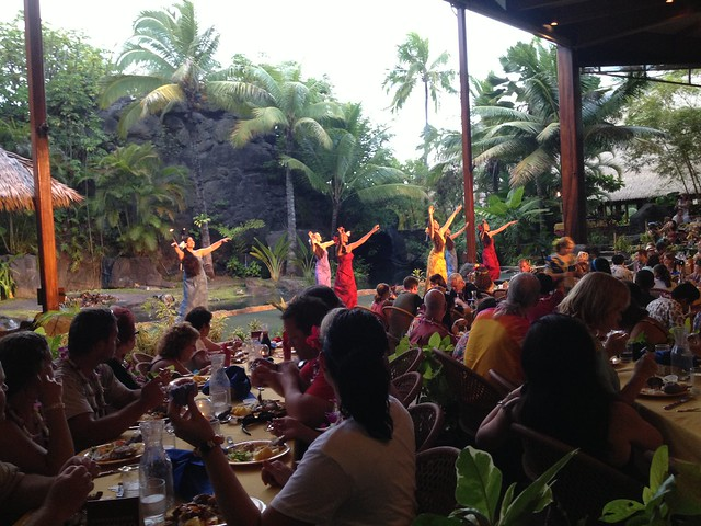 Ali'i Luau entertainment