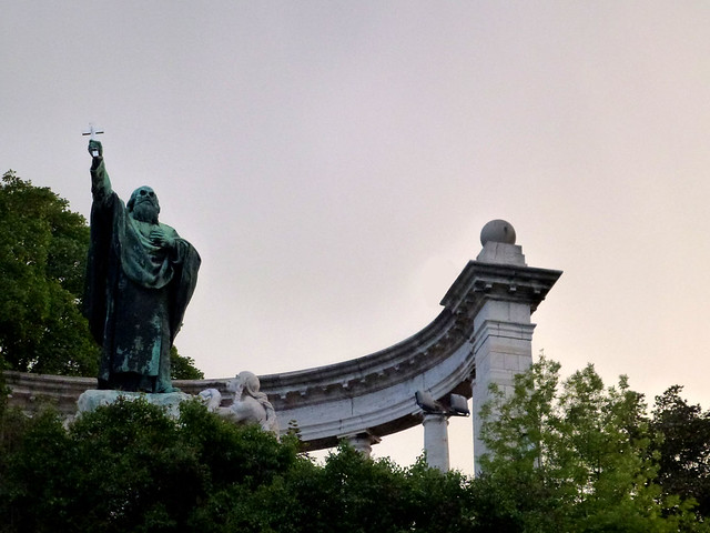 Budapest - jour 2 - 43 - Szent Gellért Szobor (Monument à Saint Gellért)