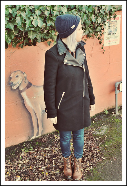 Outfit post Zara coat