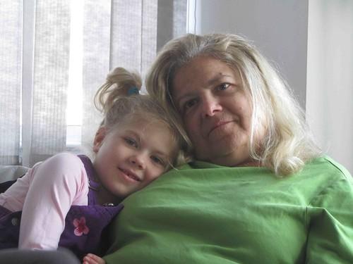Calla & Gramma Lynn