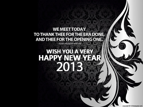 2013 New Year Quotes Wallpaper