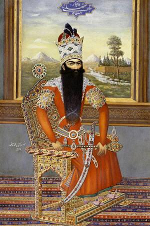 Fath Ali Shah Qajar Aga Khans Great Great Grandfather