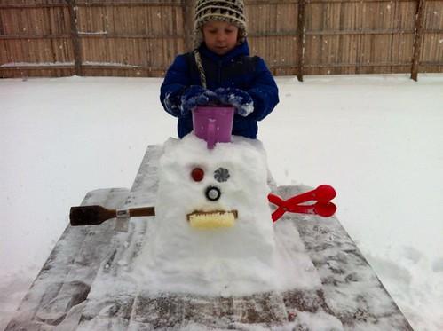 cube snowman