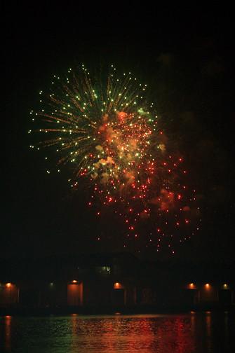 Kakaako fireworks