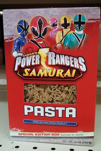 Power Rangers Pasta
