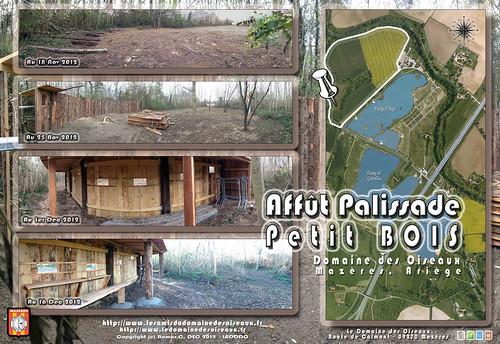 EXTENSION DDO - Affût palissade (Domaine des Oiseaux, Ariège - Mazères) by  Christophe-RAMOS