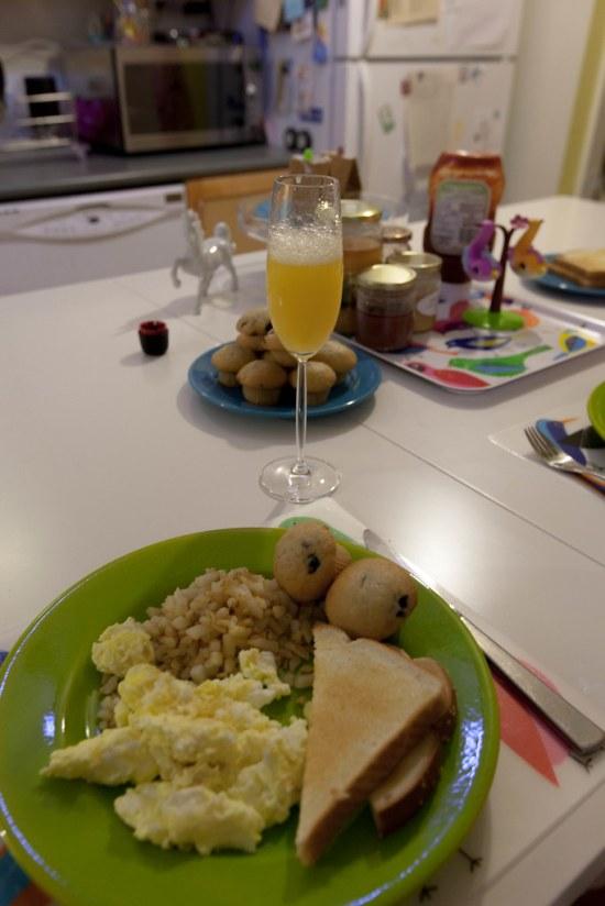 Mini-Xmas Breakfast