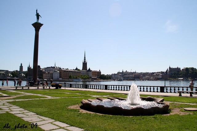 Estocolmo desde el Ayuntamiento