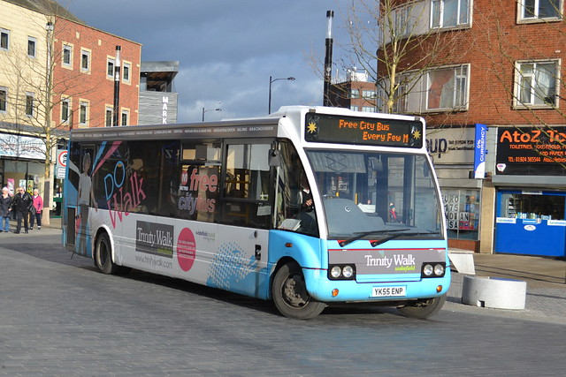 Star Travel Optare Solo YK55ENP - Wakefield