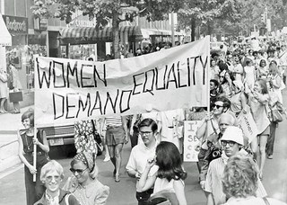 DC Demonstration for Women's Rights: 1970