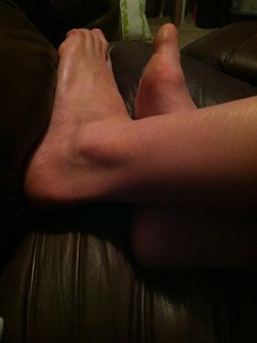 #photoadayosd feet ... the feet of a runner