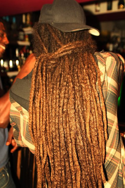 a dread @ Tracee's Bar