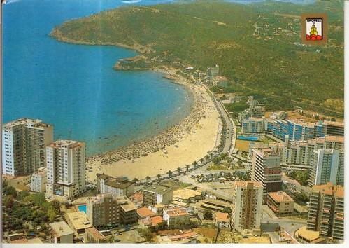 Playa de la concha. Aprox 1985