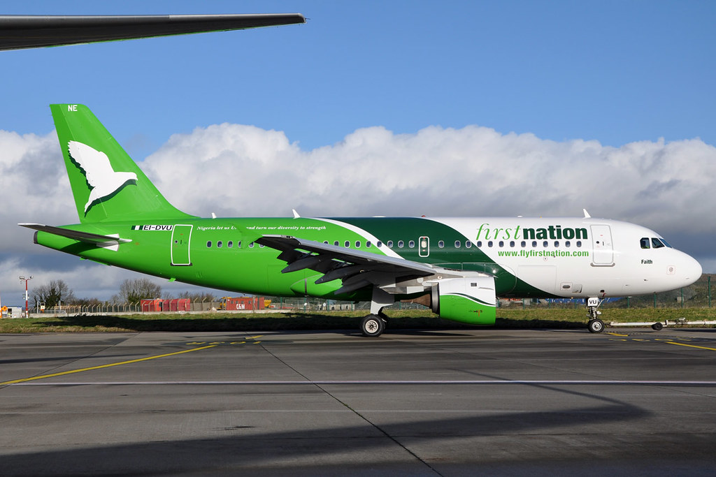 FirstNation Airways - A319 - 5N-FNE/ex-EI-DVU (copyright n707pm)