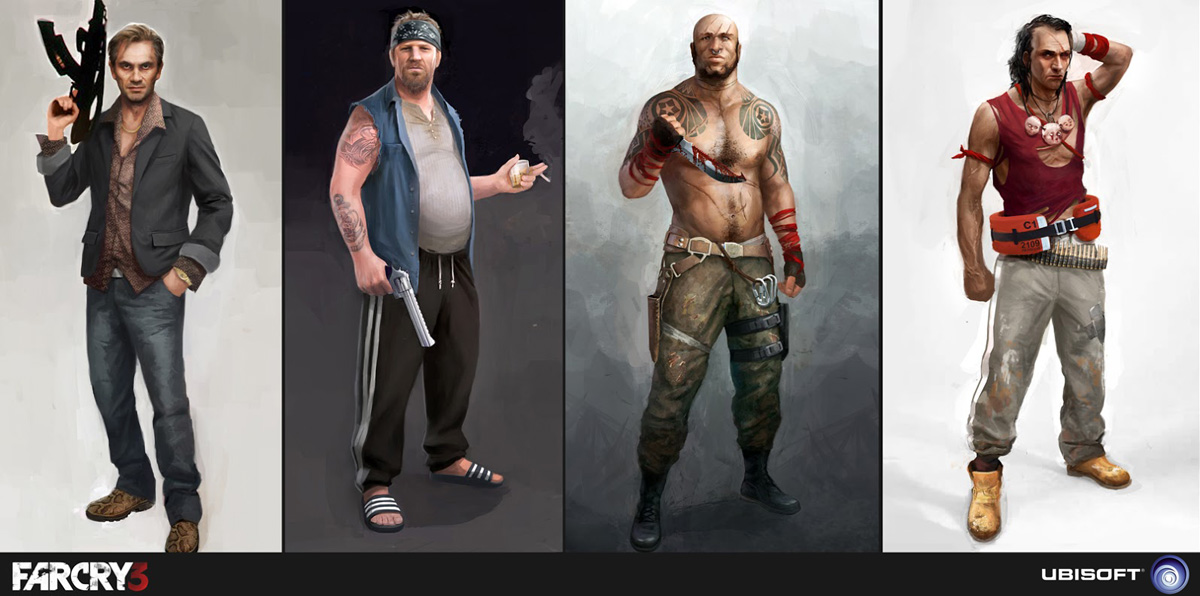 Concept Art Far Cry 3 Art Of The Game