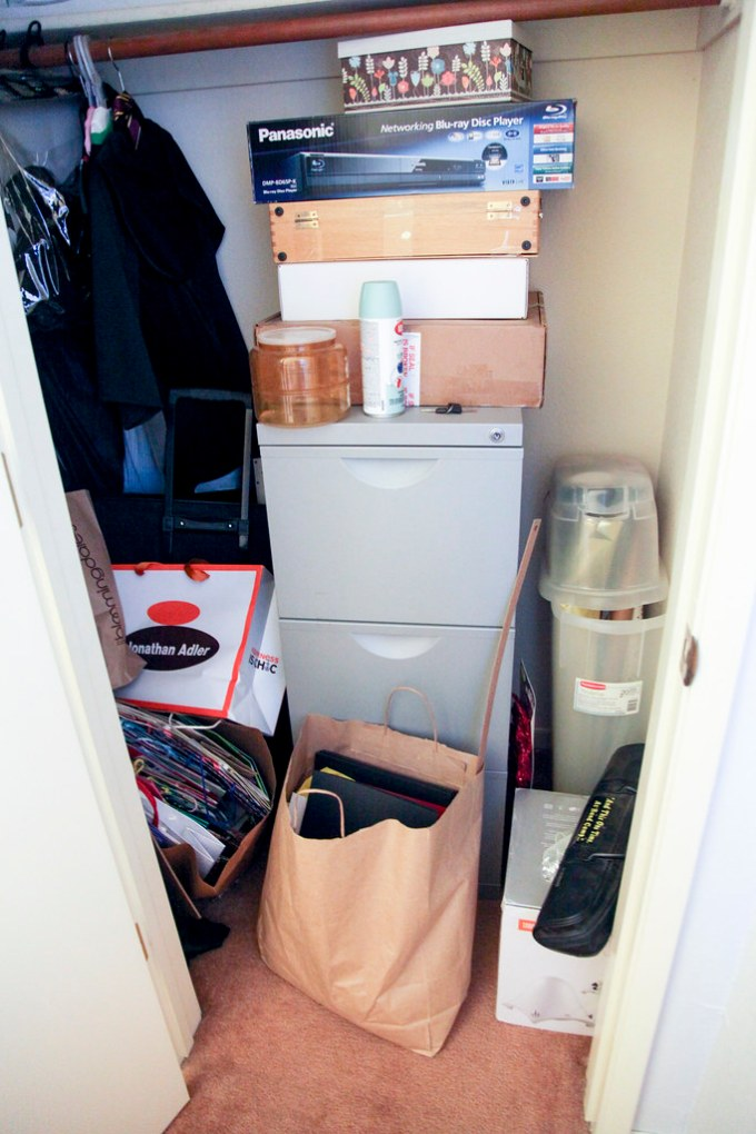 Office Closet - Before