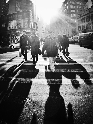 Just a touch of Sun by Eleven ~ NYC~ on and off