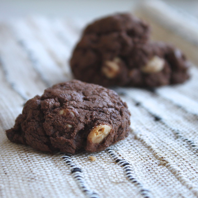 Brownie Ginger Cookies