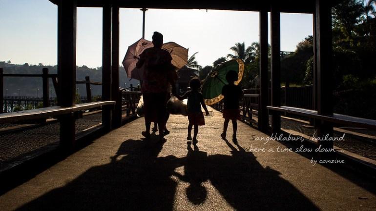 โรงเรียนเลิก - สังขละบุรี