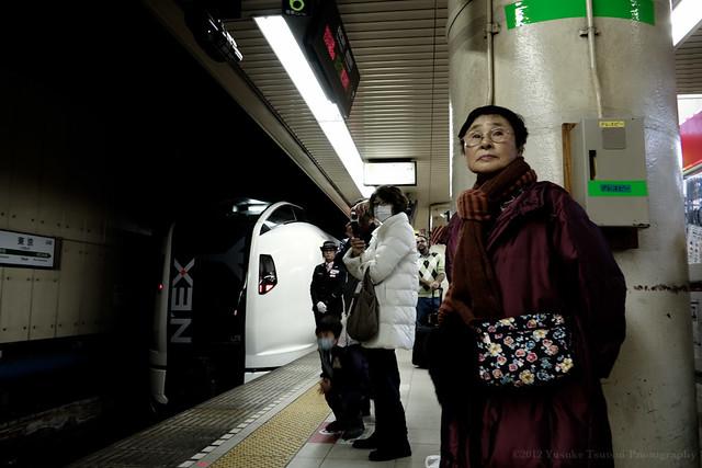 Narita Express (NEX) at Tokyo Station