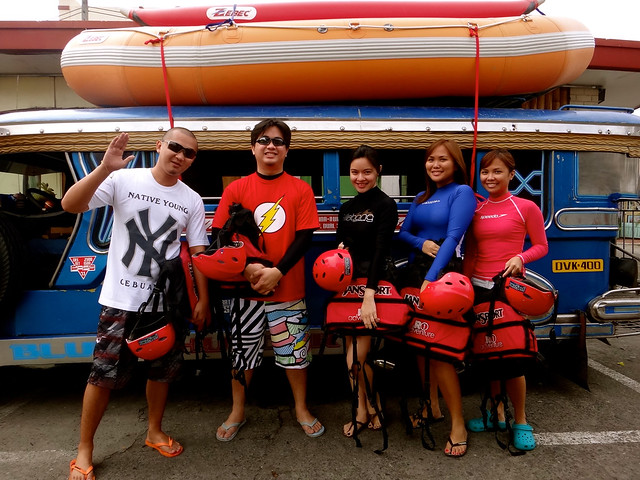 White water rafting in Davao 2012